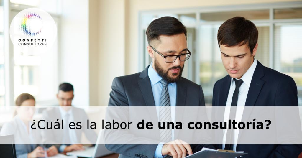 ¿Que es una empresa de consultoría?